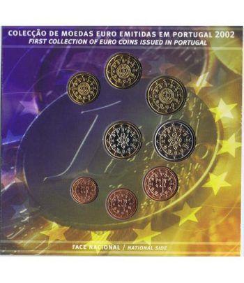 Cartera oficial euroset Portugal 2002  - 2