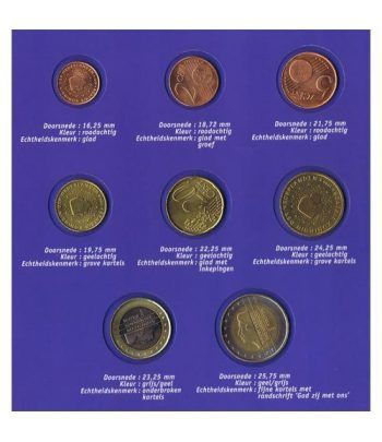 Cartera oficial euroset  Holanda (introducción al Euro)  - 4