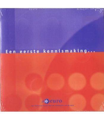 Cartera oficial euroset  Holanda (introducción al Euro)  - 1