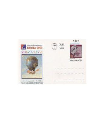 Entero Postal nº 08 - Feria y Expo Filatélica FILATELIA 2000  - 2