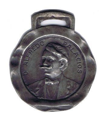 Medalla dedicada a Alfredo Palacios  - 1