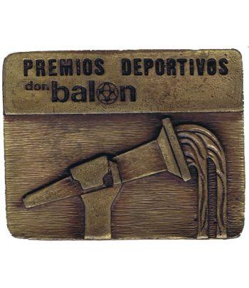 Medalla de bronce Premio de Poesia Deportiva Samaranch  - 1