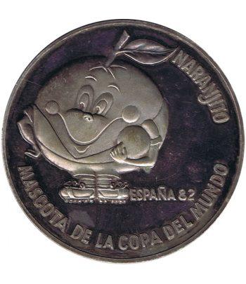 Medalla plateada Mundial'82. Naranjito  - 1
