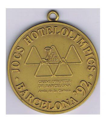 Medalla dorada Jocs Hotelolimpics Barcelona'92  - 1