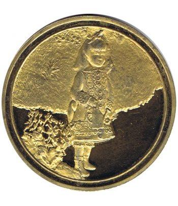 Medalla Centenaire de l' Impressionnisme Petite fille à l'arrosoir.  - 1