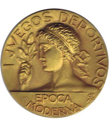 Medalla época moderna. Primeros Juegos Deportivos.  - 1