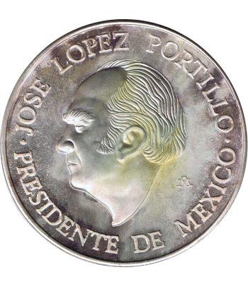 Medalla López Portillo y Juan Carlos I México 1978  - 1