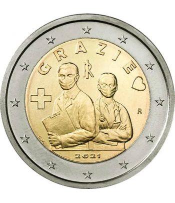moneda 2 euros Italia 2021 dedicada a las Profesiones Sanitarias  - 1