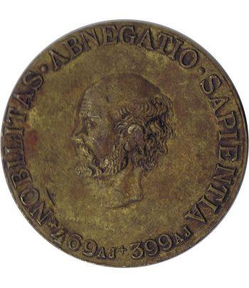 Medalla Nobilitas Abnegatio Sapientia 1896  - 1