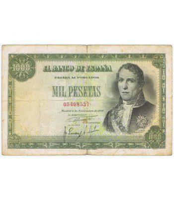 Billete de España 1000 Pesetas 4 de noviembre 1949 BC+.  - 1