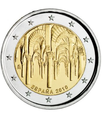 moneda conmemorativa 2 euros España 2010 Mezquita Cordoba.  - 3