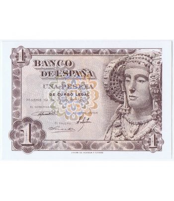Billete de España 1 Peseta 19 de junio de 1948  - 1