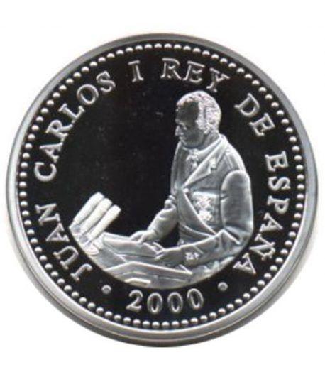 2000 Pesetas 2000 XXV Aniv. proclamación S.M. J. C. Madrid  - 1