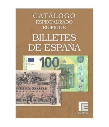 Catálogo Edifil 2021 Especializado Billetes España.  - 1
