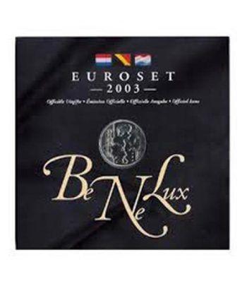 Cartera oficial euroset Benelux 2003  - 2