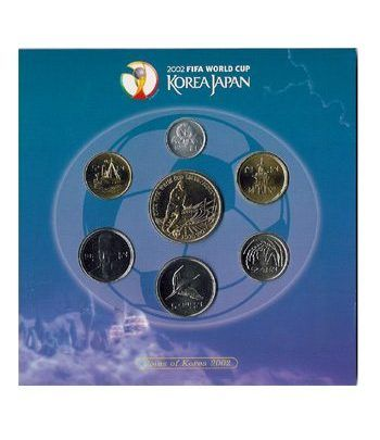 Monedas de plata Korea Japan 2002. Fifa World Cup.  - 2