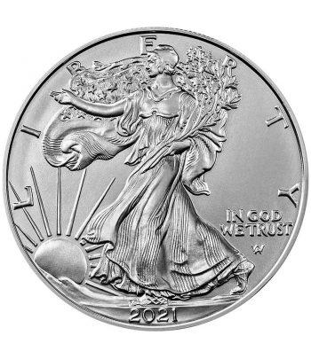 Moneda 1$ Estados Unidos Liberty 2021 Nuevo diseño  - 1
