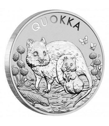 Australia 1$ de plata Quokka año 2021.  - 1