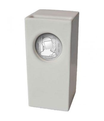 Moneda de plata de Belgica año 2021 20 euros Roger Raveel  - 1
