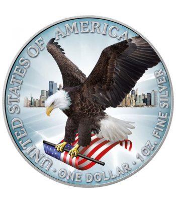 Moneda 1$ Estados Unidos Liberty 2021 Color. Nuevo diseño  - 1