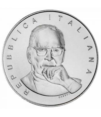 Moneda de Italia año 2021 5 euros Ennio Morricone Plata  - 1