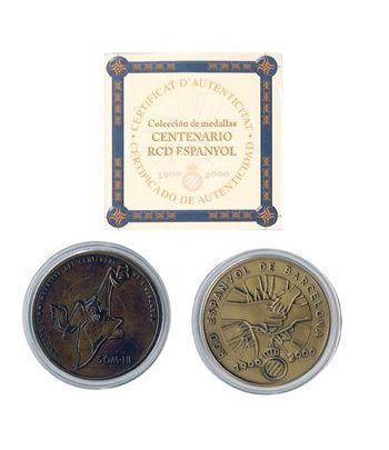 Medalla centenario del RCD Espanyol. Bronce  - 2