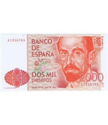 Billete de España 2000 Pesetas 22 julio 1980 SC.  - 1