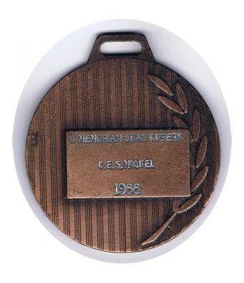 Medalla Fútbol. Cobre  - 4