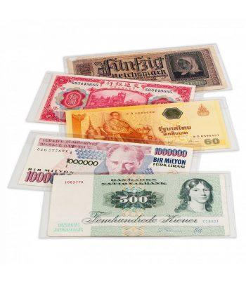 LEUCHTTURM Fundas billetes BASIC 204. 210X127mm. (50u.).  - 1