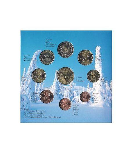 Cartera oficial euroset Finlandia 2003  - 2
