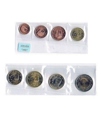 monedas euro serie España 2000  - 2
