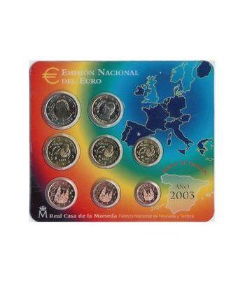 Cartera oficial euroset España 2003  - 2
