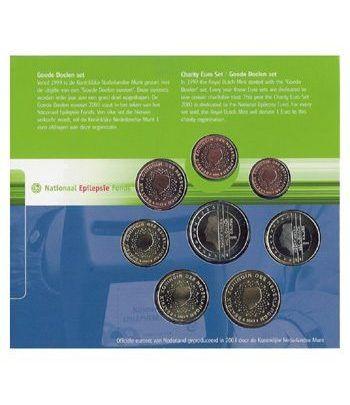Cartera oficial euroset Holanda 2003  - 2