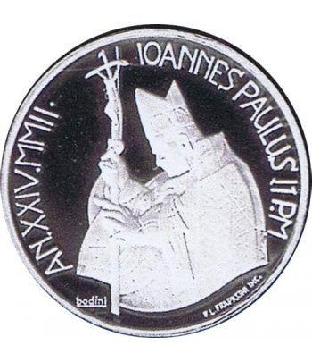 Vaticano 10 euros 2002. Dia Mundial Paz. Plata.  - 4
