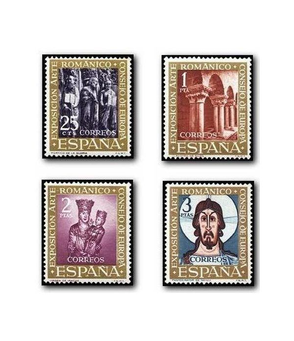 1365/68 VII Exposición del Consejo de Europa (El Arte Románico)  - 2