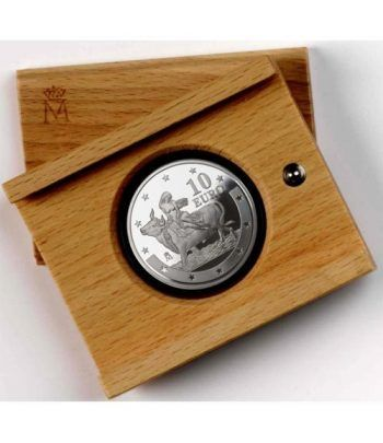 Moneda 2003 Primer Aniversario del Euro. 10 euros. Plata.  - 2