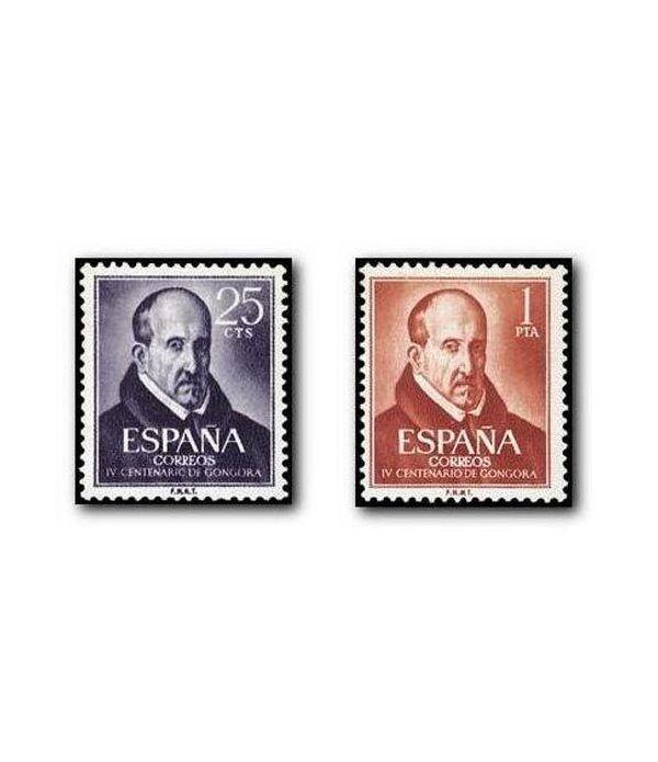 1369/70 IV Centenario del nacimiento de Luis de Góngora y Argote  - 2