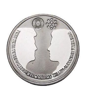 Holanda 10 Euros 2002 Boda Principe Heredero.  - 1