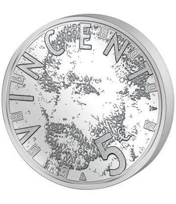 Holanda 5 Euros 2003 Vincent Van Gogh.  - 1