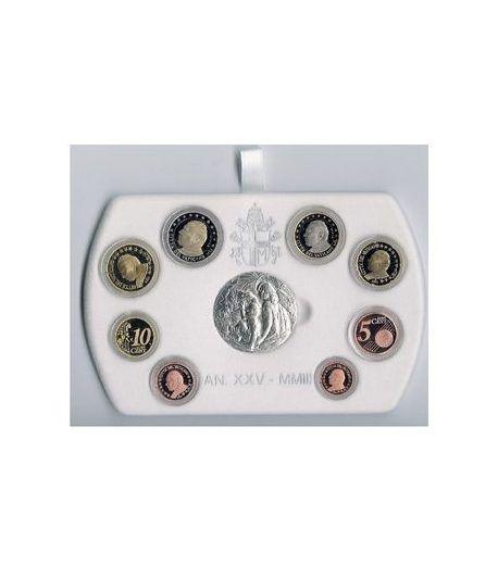 Cartera oficial euroset Vaticano 2003 (Proof)  - 2