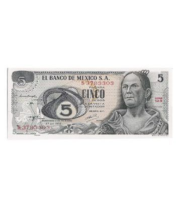 Mexico 5 Pesos 1972  - 2