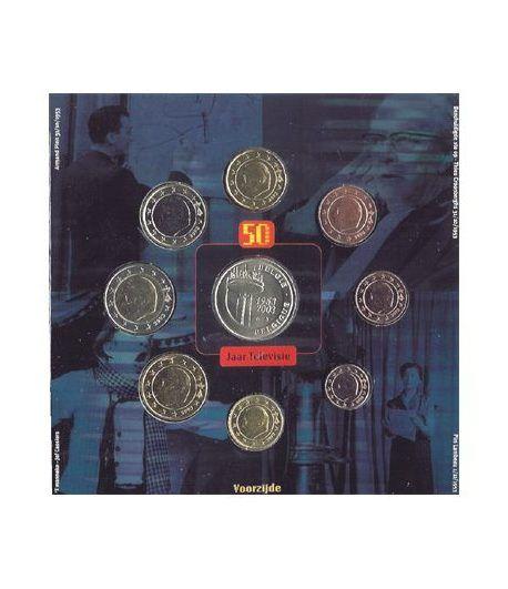 Cartera oficial euroset Belgica 2003  - 2