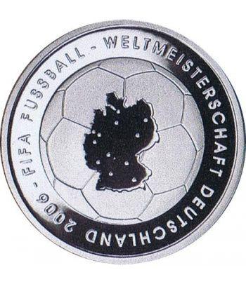 moneda Alemania 10 Euros 2003 Fifa.  - 1