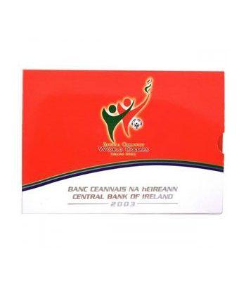 Cartera oficial euroset Irlanda 2003 (Special Olympics)  - 2
