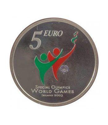 Cartera oficial euroset Irlanda 2003 (Special Olympics)  - 4