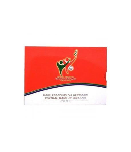 Cartera oficial euroset Irlanda 2003 (Special Olympics)  - 1