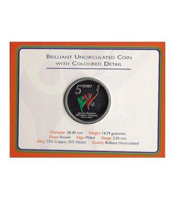 Irlanda 5 Euros (colores-olympics) 2003 (estuche)  - 2