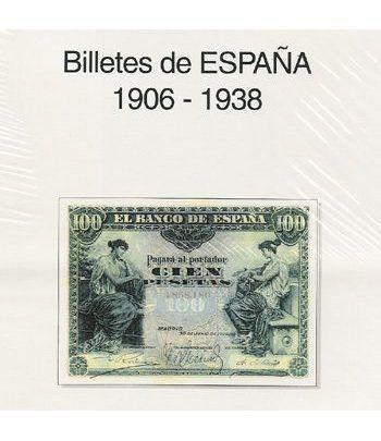 EDIFIL. Hojas billetes Alfonso XIII / Guerra Civil (1906-1938) Album billetes - 2