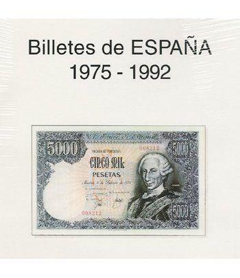 EDIFIL. Hojas billetes Juan Carlos I (1975-1992) Album billetes - 2