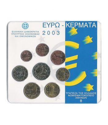 Cartera oficial euroset Grecia 2003  - 2